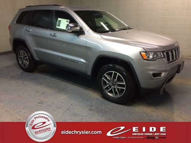 Lease this 2019, Silver, Jeep, Grand Cherokee, Limited