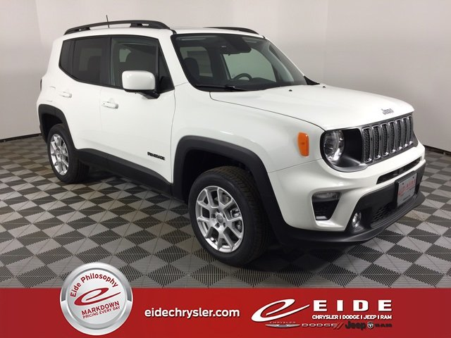 Lease this 2019, White, Jeep, Renegade, Latitude