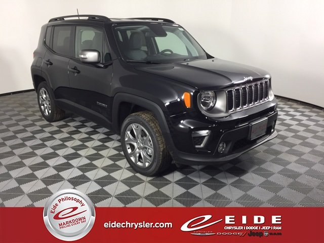 Lease this 2019, Black, Jeep, Renegade, Limited