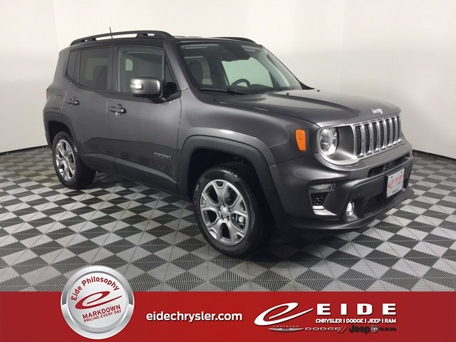 Lease this 2019, Gray, Jeep, Renegade, Limited