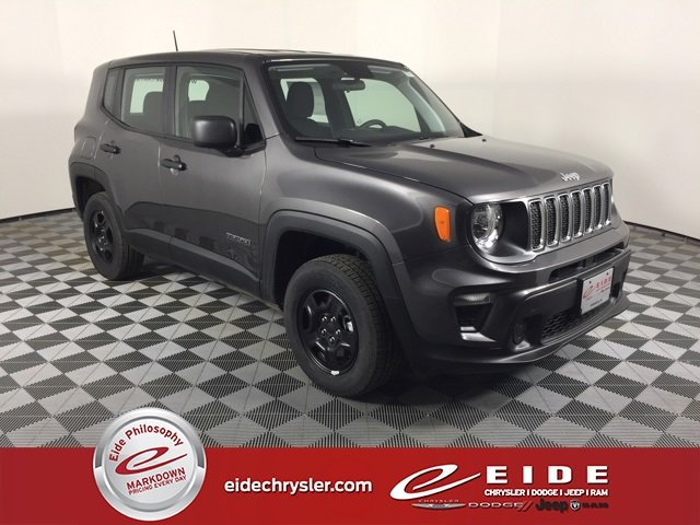 Lease this 2019, Gray, Jeep, Renegade, Sport