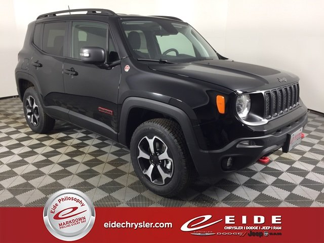 Lease this 2019, Black, Jeep, Renegade, Trailhawk