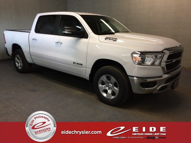 Lease this 2019, White, Ram, 1500, Big Horn
