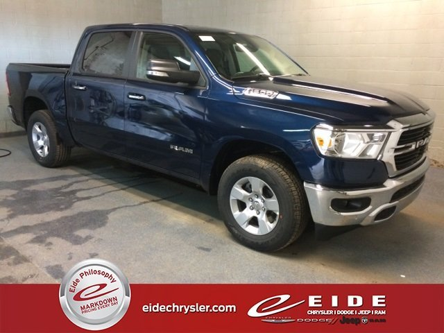 Lease this 2019, Blue, Ram, 1500, Big Horn