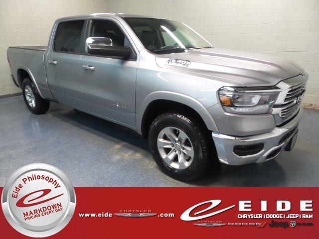 Lease this 2019, Silver, Ram, 1500, Laramie