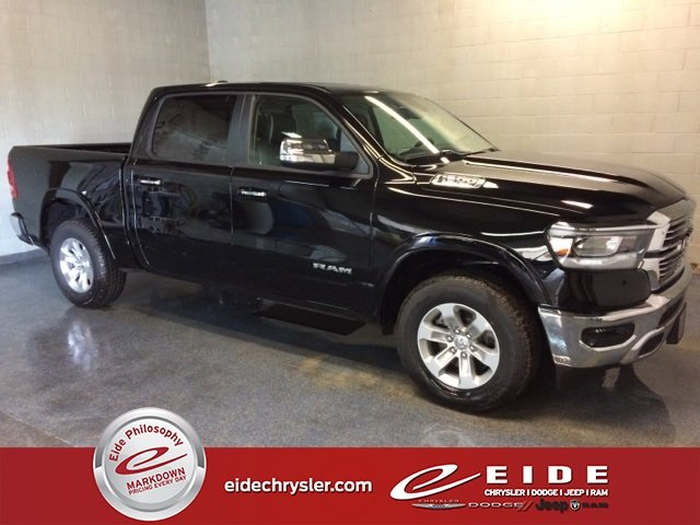 Lease this 2019, Black, Ram, 1500, Laramie