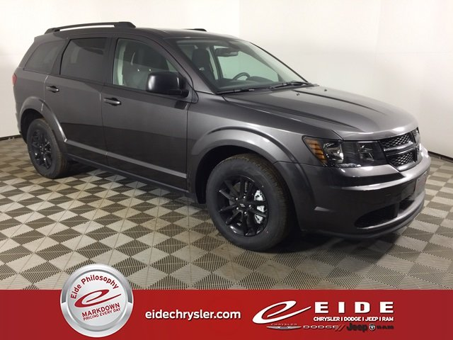 Lease this 2020, Gray, Dodge, Journey, SE