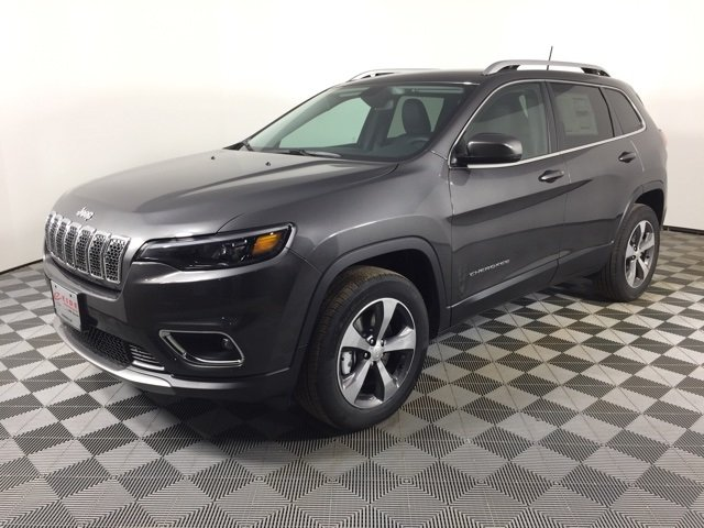 Lease this 2020, Gray, Jeep, Cherokee, Limited
