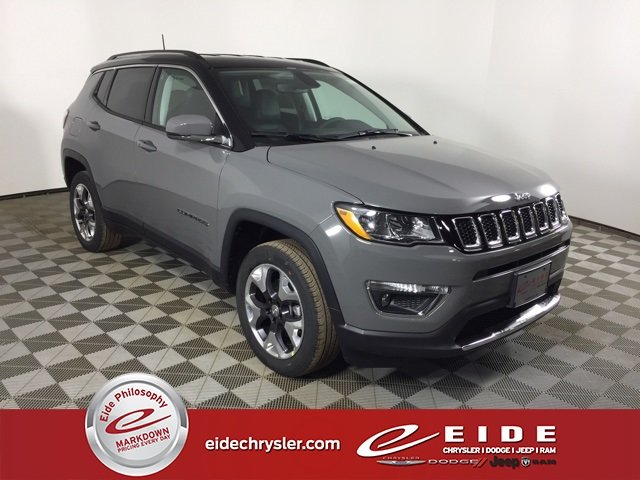 Lease this 2020, Gray, Jeep, Compass, Limited