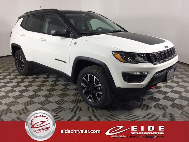 Lease this 2020, White, Jeep, Compass, Trailhawk