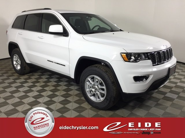Lease this 2020, White, Jeep, Grand Cherokee, Laredo