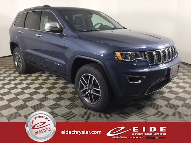 Lease this 2020, Blue, Jeep, Grand Cherokee, Limited