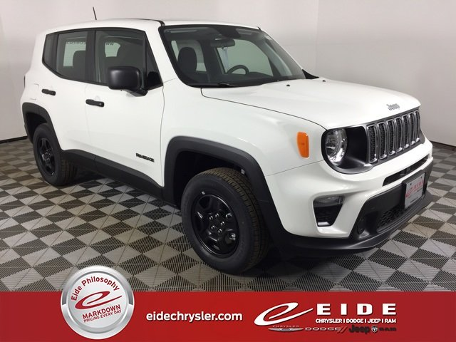 Lease this 2020, White, Jeep, Renegade, Sport