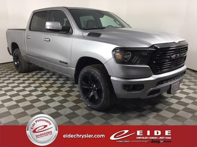Lease this 2020, Silver, Ram, 1500, Big Horn
