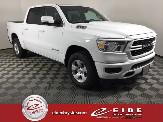 Lease this 2020, White, Ram, 1500, Big Horn