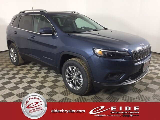 Lease this 2021, Blue, Jeep, Cherokee, Latitude Lux