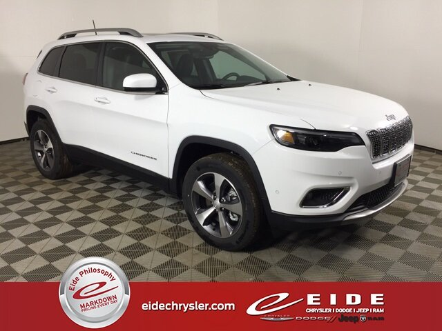 Lease this 2021, White, Jeep, Cherokee, Limited