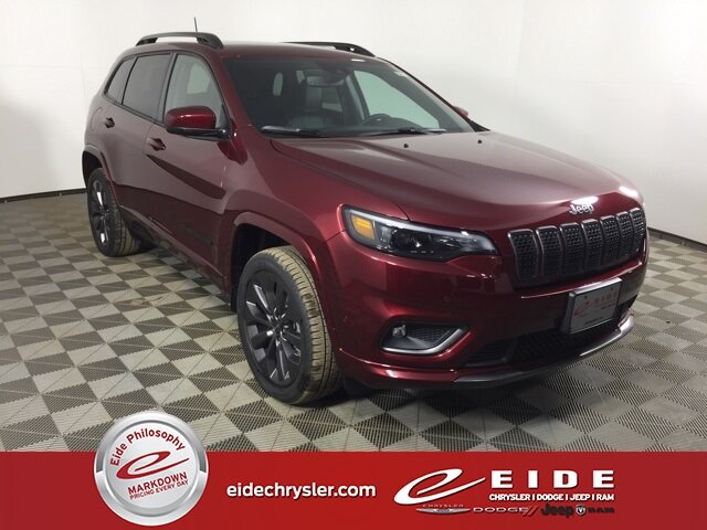 Lease this 2021, Red, Jeep, Cherokee, Limited High Altitude
