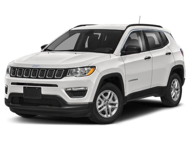 Lease this 2021, White, Jeep, Compass, 80th Special Edition