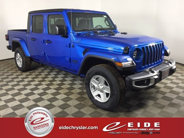 Lease this 2021, Blue, Jeep, Gladiator, Sport