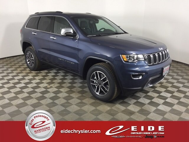 Lease this 2021, Blue, Jeep, Grand Cherokee, Limited