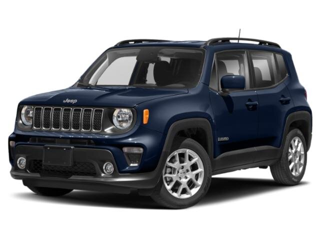 Lease this 2021, Blue, Jeep, Renegade, Latitude