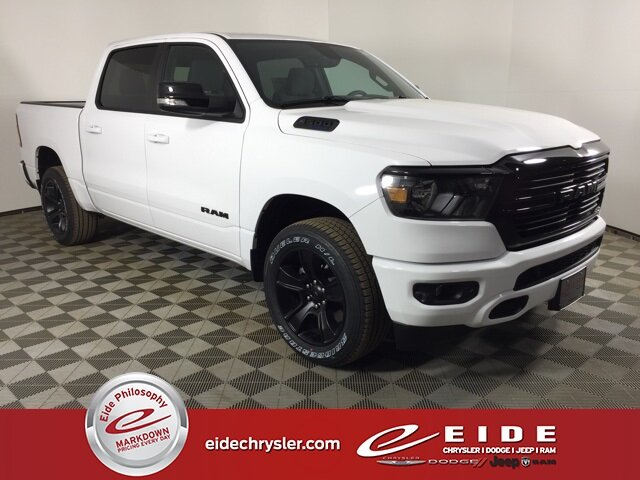 Lease this 2021, White, Ram, 1500, Big Horn Night Edition