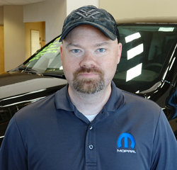 Parts Advisor Matthew Hartung in Parts at Eide Chrysler