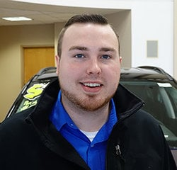 Business Manager Reese Paulson in Sales at Eide Chrysler