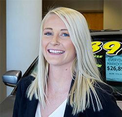 Sales Consultant Kolette Balsam in Sales at Eide Chrysler