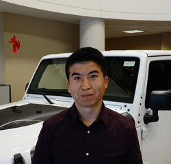 Sales Consultant Zia Ziaulhaq in Sales at Eide Chrysler