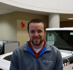 Sales Consultant Keith Larson in Sales at Eide Chrysler