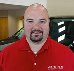 Sales Consultant Joshua Randolph in Sales at Eide Chrysler