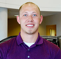 Sales Consultant Tyler Miller in Sales at Eide Chrysler