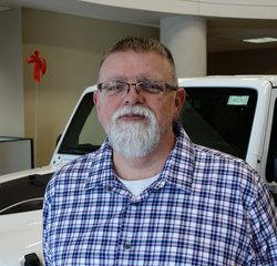 Service Advisor Bill Masse in Service at Eide Chrysler