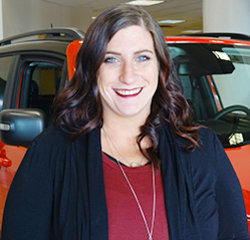 Business Manager Whitney Sandberg in Sales at Eide Chrysler