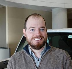 Sales Consultant Josh Herigstad in Sales at Eide Chrysler