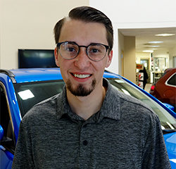 Internet Sales Consultant Kyle Edwards in Sales at Eide Chrysler
