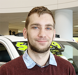 Sales Consultant Justin Streifel in Sales at Eide Chrysler