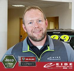 INTERNET SALES SPECIALIST Chris Klein in Sales at Eide Chrysler