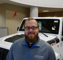 INTERNET SALES SPECIALIST Brian Helmenstein in Sales at Eide Chrysler