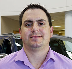 Sales Consultant Michael Samuelson in Sales at Eide Chrysler