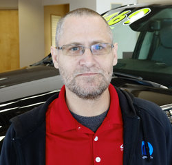 Parts Advisor James Lund in Parts at Eide Chrysler