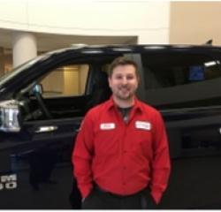 Technician John Price in Service at Eide Chrysler