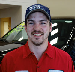 TECHNICIAN Cody Gerke in Service at Eide Chrysler