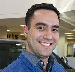Sales Consultant Roy Mansoor in Sales at Eide Chrysler