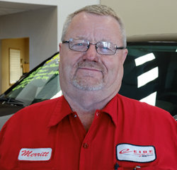 TECHNICIAN Merritt Ketterling in Service at Eide Chrysler