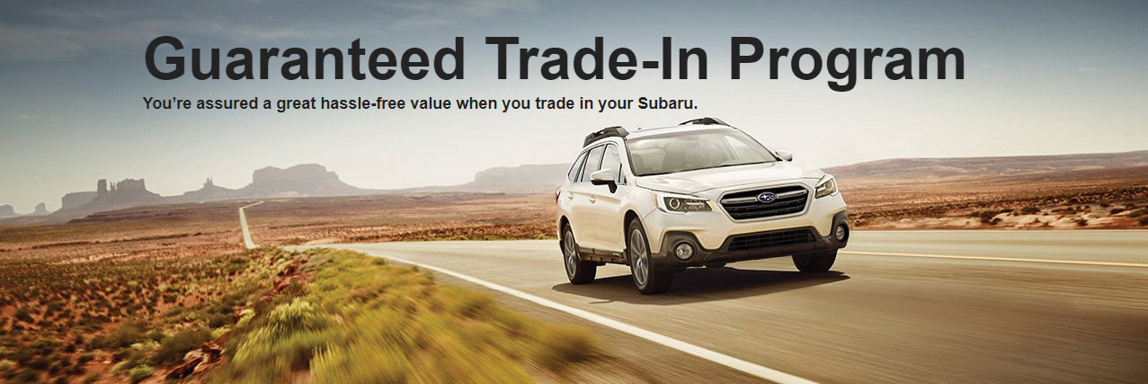 Subaru Guaranteed Trade-In Program