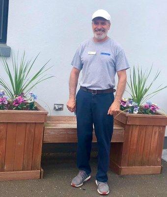 Maintenance Engineer Joe Sarmento in Administration at Garavel Subaru