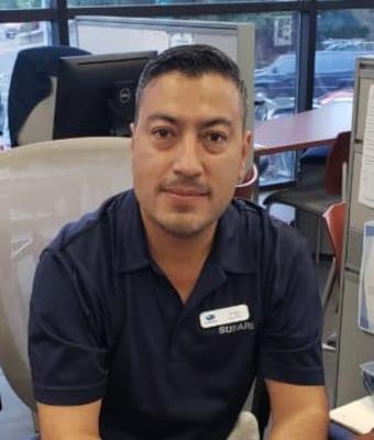 Certified Sales Consultant Sergio Paniagua in Sales at Garavel Subaru